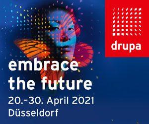 Drupa Düsseldorf 2021 |April 20-30, 2021 @ Messe Düsseldorf